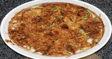 green bean casserole with chopped chicken