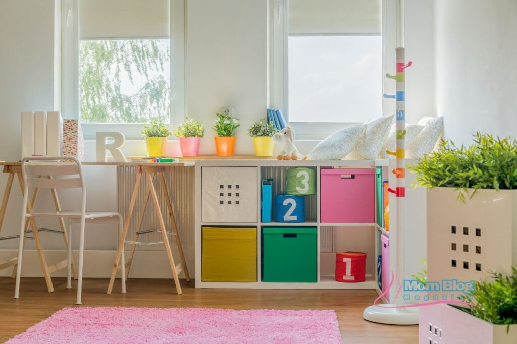 Storage Space for Kids Rooms